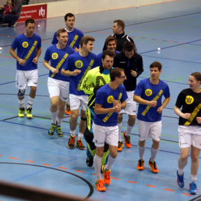 Floorballkrimi in Leipzig